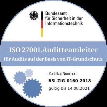 ISO 27001 Auditteamleiter